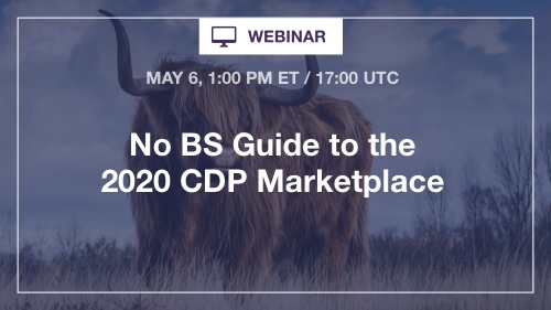 No BS CDP Marketplace