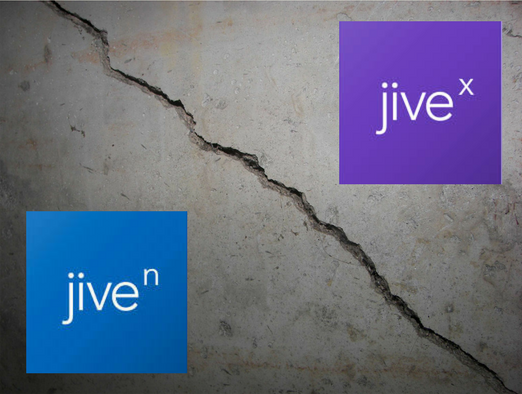Customer Impact of Jive's Split