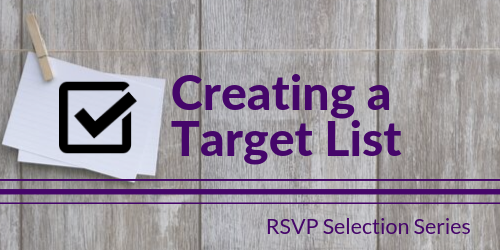 Tech Selection Series: Creating a Targeted List
