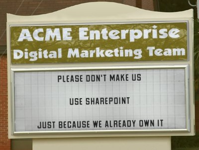 Acme Enterprise Digital Marketing Team Lament