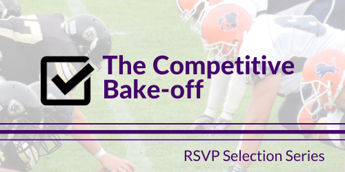 The Competitive bake-off