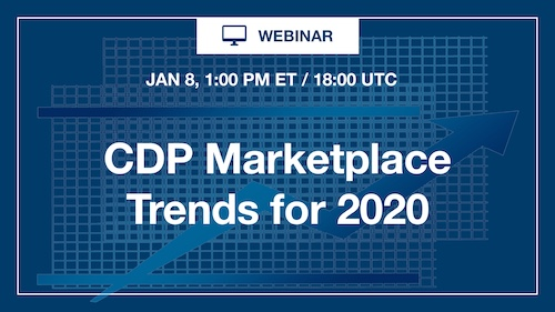 CDP Marketplace Trends for 2020