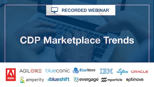 Recorded Webinar: CDP Marketplace Trends