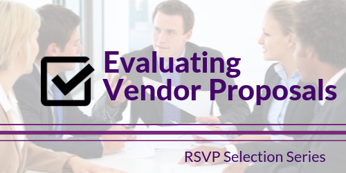 Evaluating Vendor Proposals