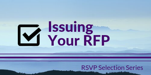 Issuing Your RFP