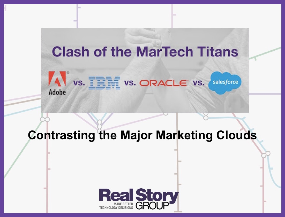 Contrasting the Major Marketing Clouds