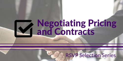 Negotiating Pricing and Contracts