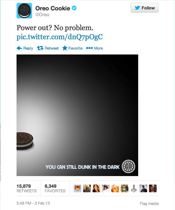 Oreo Dunk in Dark Tweet