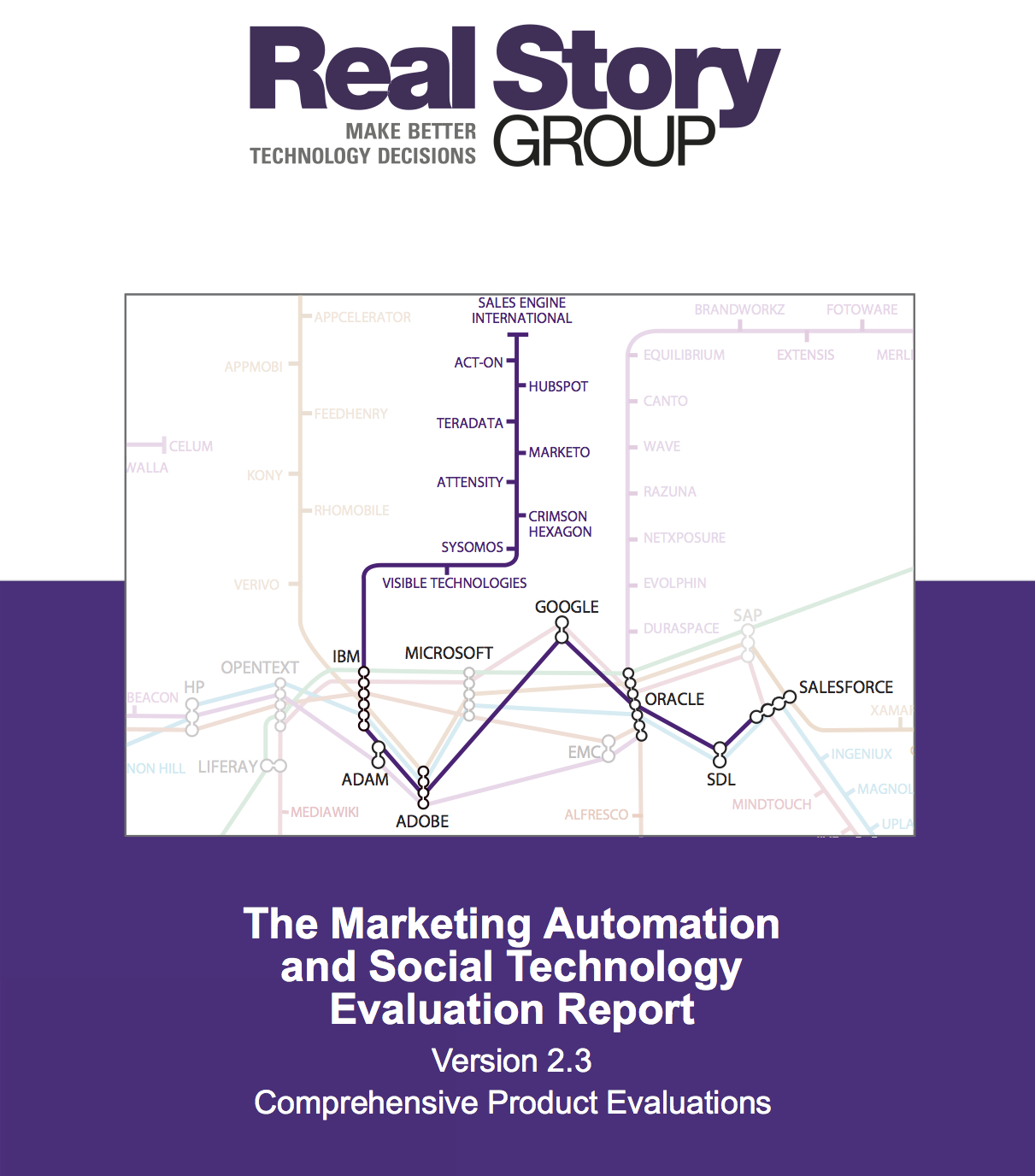 RSG Marketing Automation and Social Technology Report Cover page