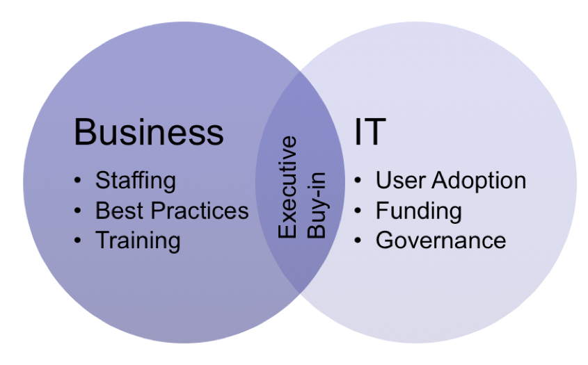 Business IT overlap