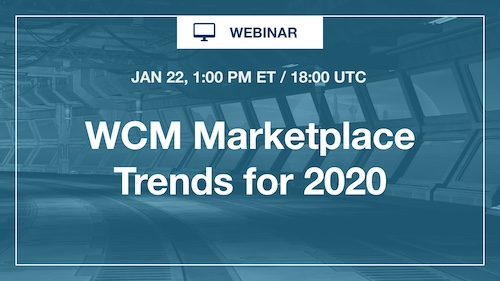 [Webinar] WCM Marketplace Trends for 2020